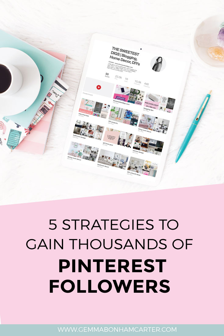 How To Gain Pinterest Followers | Pinterest Branding | Pinterest for Bloggers | Increase Pinterest Following
