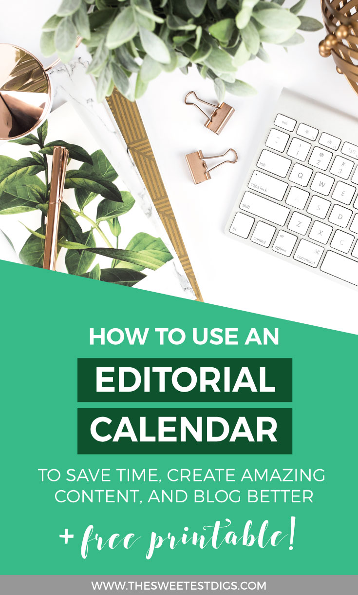 Blog Editorial Calendar | Free editorial calendar template | How to use a blogging content planning system | Blogging tips