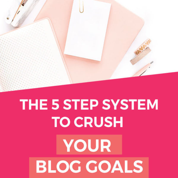 How To Grow Your Blog Faster By Setting Blogging Goals [FREE printable!]