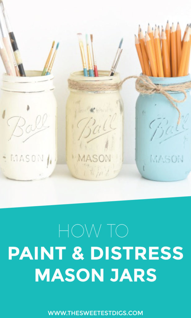 chalk-painted-mason-jars