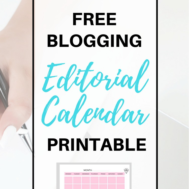 #Free Blog #Editorial Calendar Printable | How to use a blogging content planning system to grow your blog and maximize your productivity!