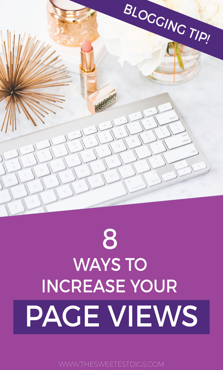Increase Blog Traffic and Pageviews | The tried and true ways I have grown my DIY and home decor blog over the last 5+ years. Full of tips & tricks for bloggers to help grow their blog and make money blogging. Plus a list of submission websites you can use to submit your posts for features. Click through for the post and free download!
