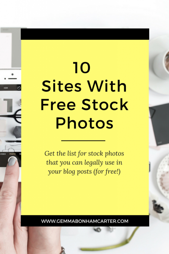 Free Stock Photos | The best websites to find royalty free stock photos and images that you can use for any personal or commercial project. Perfect for bloggers who need images for their blogs and social media! Click through for the full list.