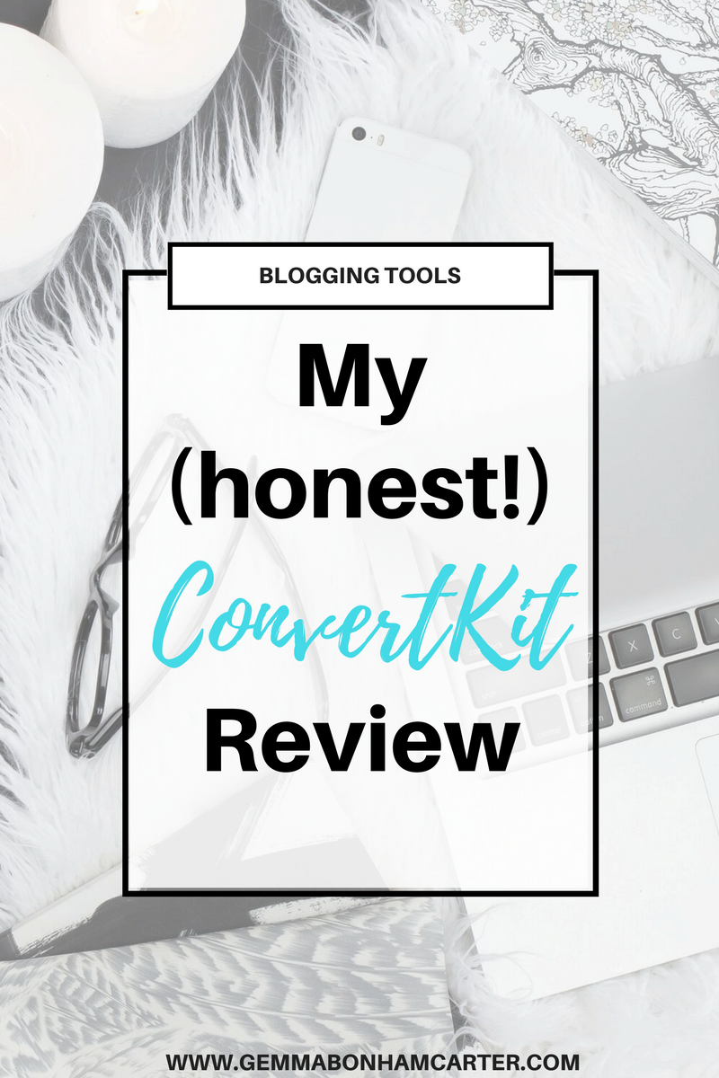 #Convertkit Review | Wondering what email service provider you should use for your blog newsletter? I have used Mailchimp and others, but ultimately landed on Convertkit. I'm laying out the benefits and features - like email funnels, opt-ins, landing pages, automations, tagging, and more.
