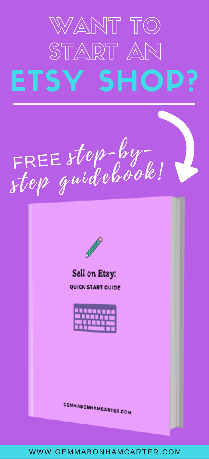 How to Start an Etsy Shop | Get the step-by-step guide on how to launch an online shop on Etsy. Including free guide and 40 free listings!