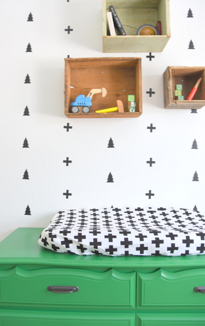 looking-for-nursery-or-kids-room-decor-ideas-check-out-this-black-white-and-green-boys-room-with-a-scandi-meets-camp-design-7
