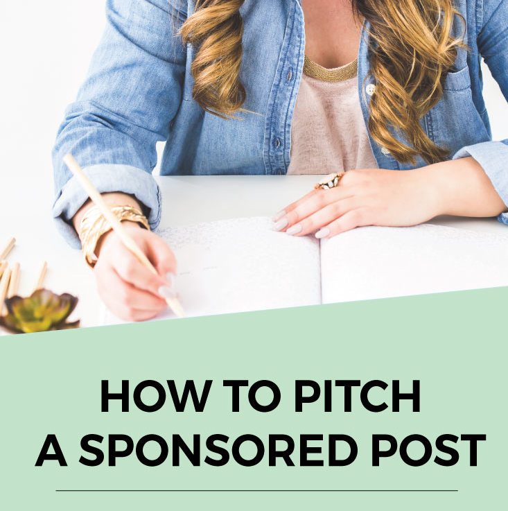 How To Pitch A Sponsored Blog Post And Land It