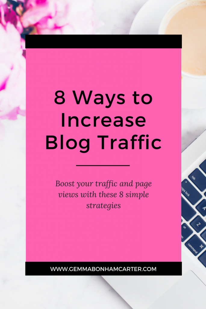 How to Increase Blog Traffic and Pageviews | The tried and true ways I have grown my DIY and home decor blog. Tips & tricks for bloggers to help grow their blog and make money blogging. Plus a list of submission websites you can use to submit your posts for features. Click through for the free download!