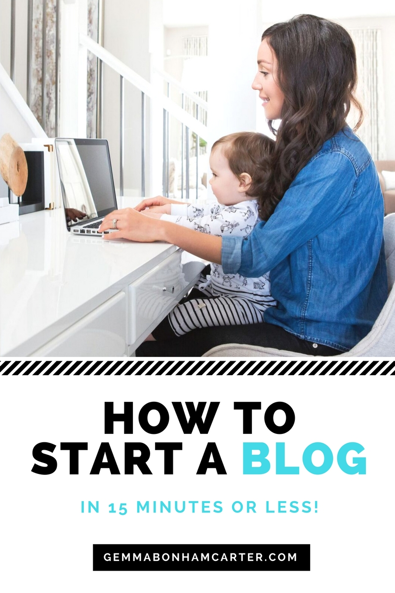 How To Start a #Blog | Get step by step instructions on starting your blog. It's easy and I'll show you how! Get your domain name, wordpress, and bluehost hosting installed in no time. Click for tutorial!