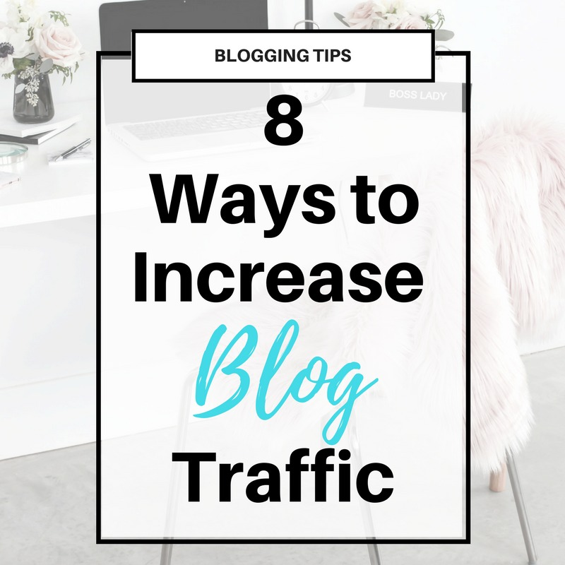 How to Increase Blog #Traffic and #Pageviews | Click through for a list of submission websites you can use to submit your blog posts for features.