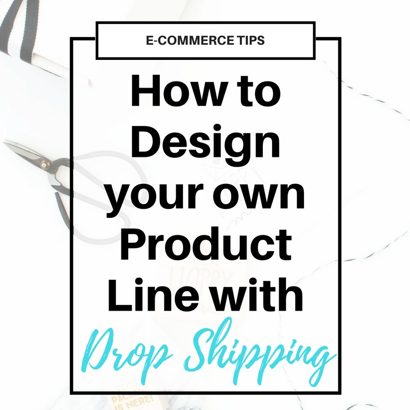 Want to start an online #shop to help grow your #blog income? Get the info on creating a line of physical products to sell on Etsy, Amazon, eBay, Shopify, etc using dropshipping manufacturing. Plus a list of manufacturers to get you started!