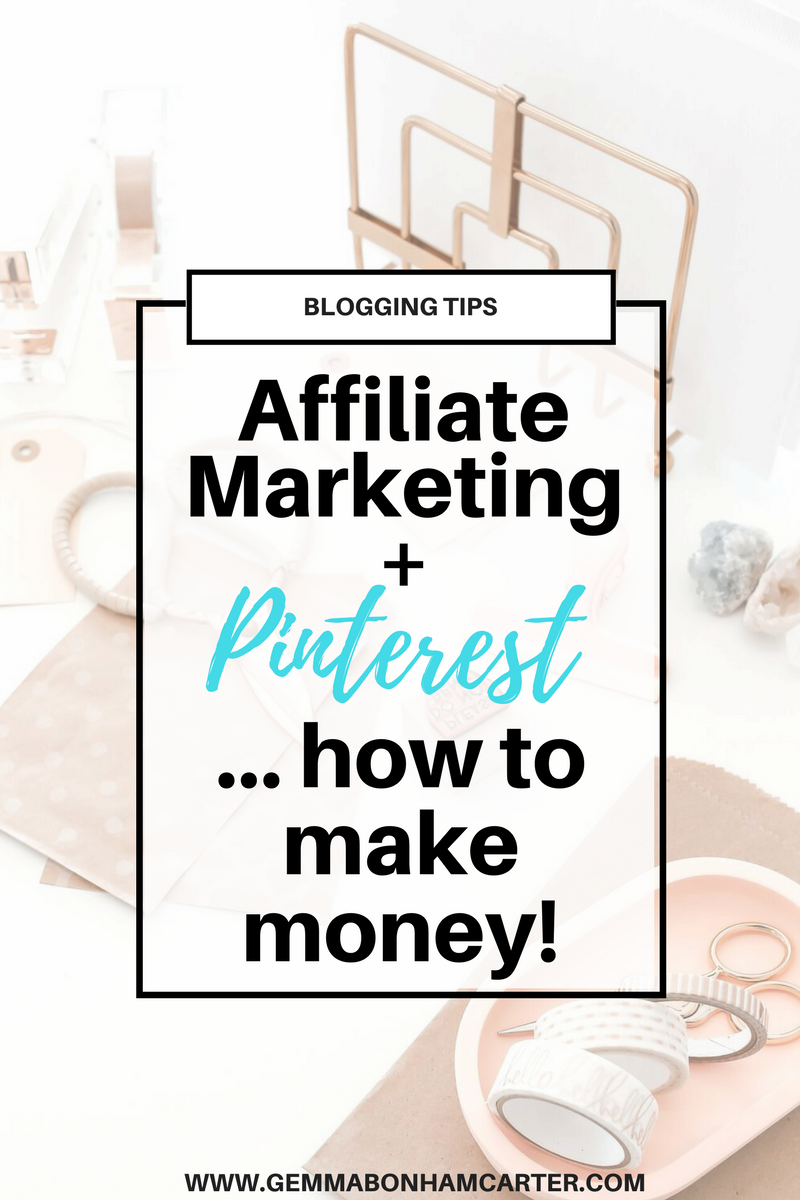 How to make money on #pinterest with #affiliate marketing | Blogger, entrepreneur or small business owner - you should be using affiliate links on Pinterest. It's a great way to make money.. passive income! Click through for the step by step tutorial with screenshots on how to embed and add your affiliate links to pinterest.