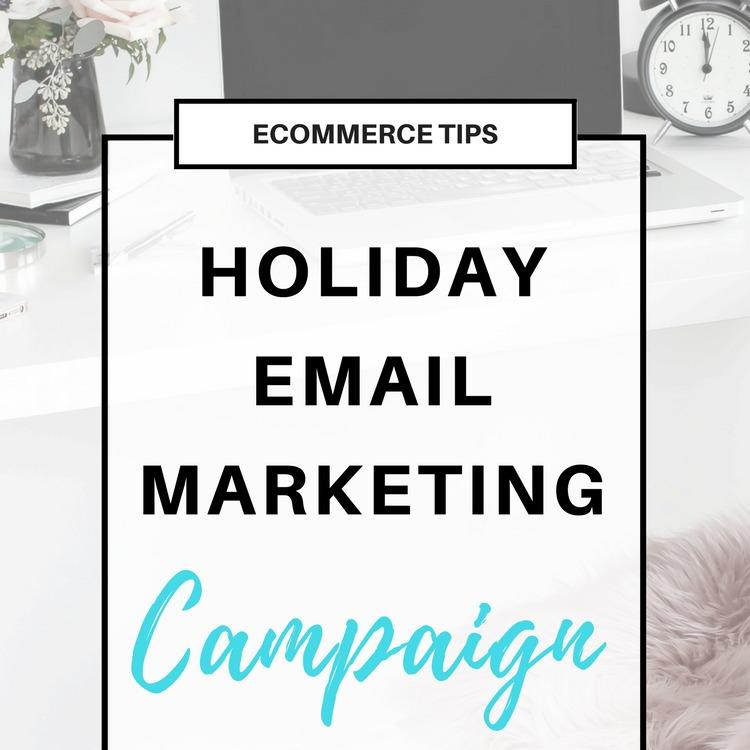 Holiday Email Marketing: A Sample Schedule for your Online Shop
