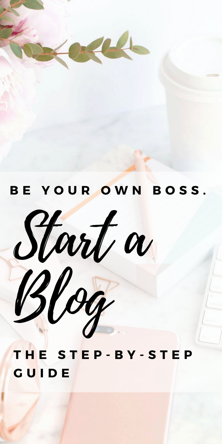 How To Start a #Blog for #Beginners | Get step by step instructions on starting your blog and make money! Get your domain name, wordpress, and hosting installed easily. Click for tutorial!