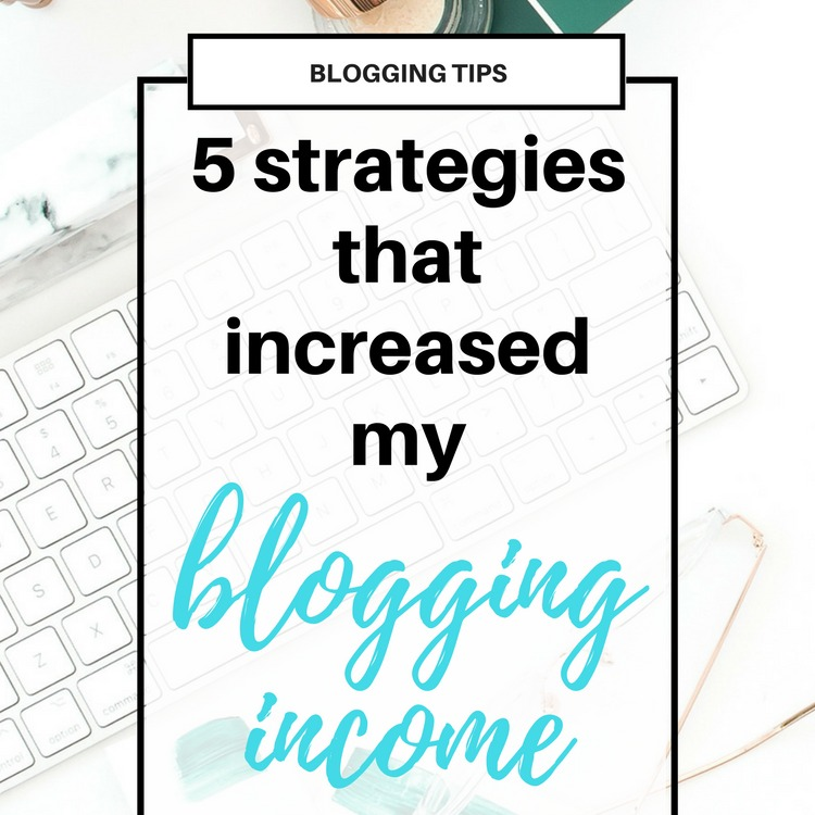 5 Things I Did That Exploded my Blogging Income
