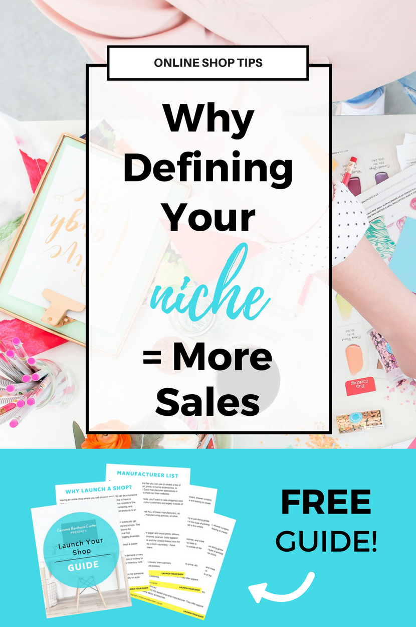 Why you need to define your niche before you launch your online shop. #onlineshop #onlinestore #blogging #makemoneyblogging #dropshipping #onlineshoptips #ecommerce