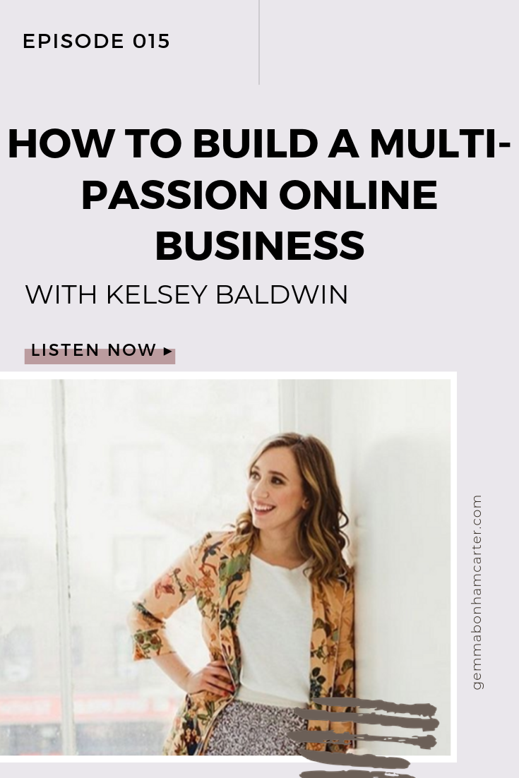 Ep15: Running A Multi-Passion Online Business With Kelsey Baldwin Of Paper & Oats