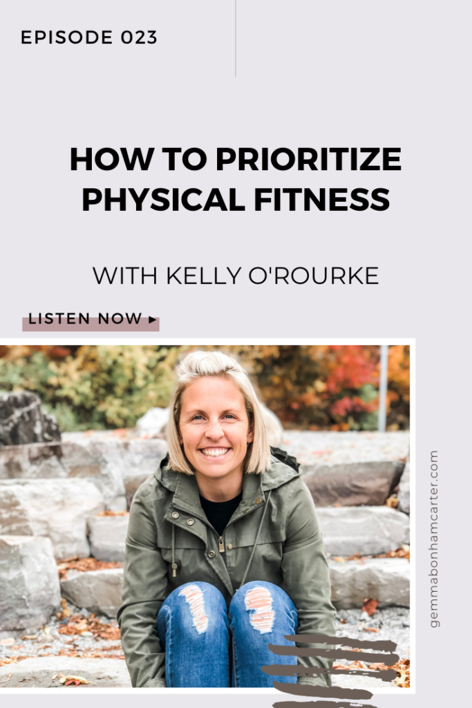 Ep23: Health, Wellness, & Showing Up For Yourself, with Kelly O'Rourke