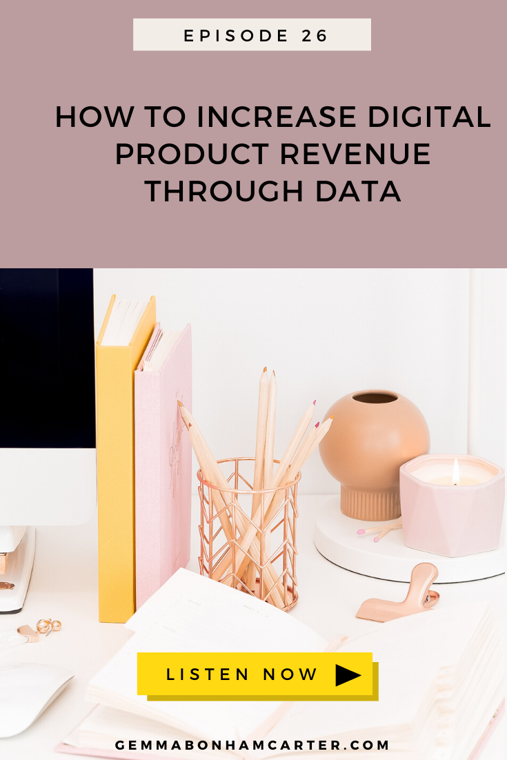 Ep26:Let's Talk Numbers: How to Increase Your Revenue (Big Time!) With Data