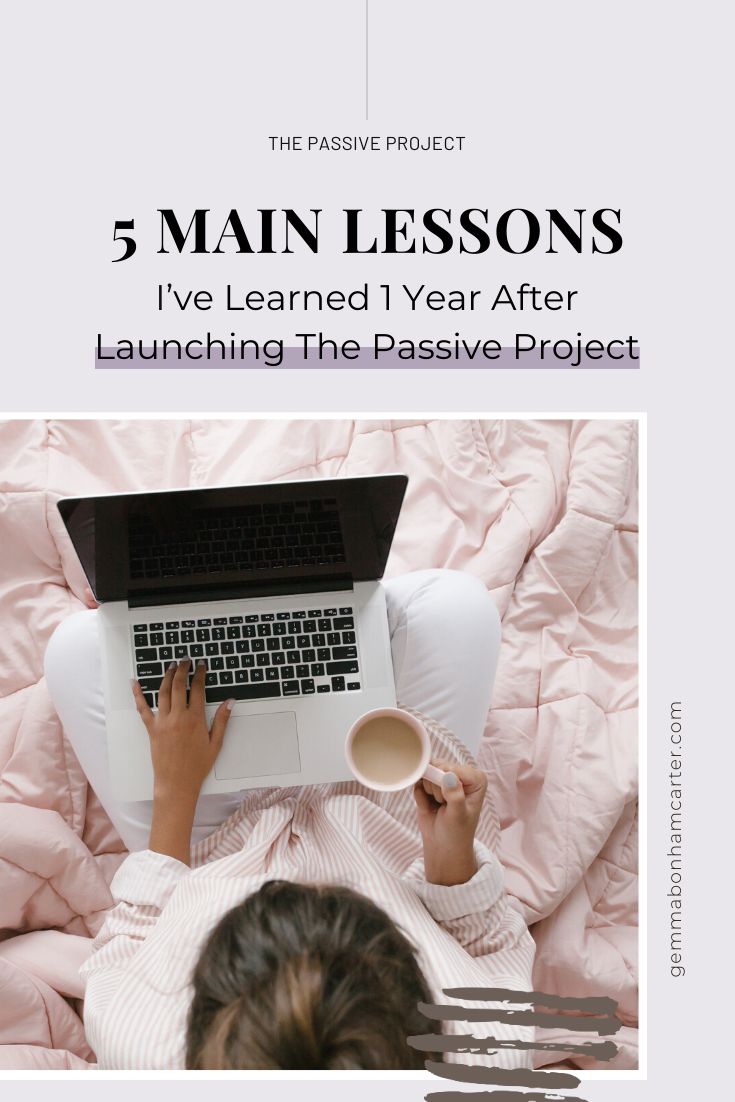 Ep32: The 5 Main Lessons I've Learned 1 Year After Launching The Passive Project