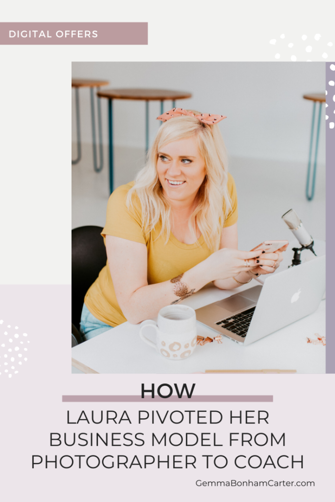 Ep41: How Laura Pivoted Her Business Model from Photographer to Coach