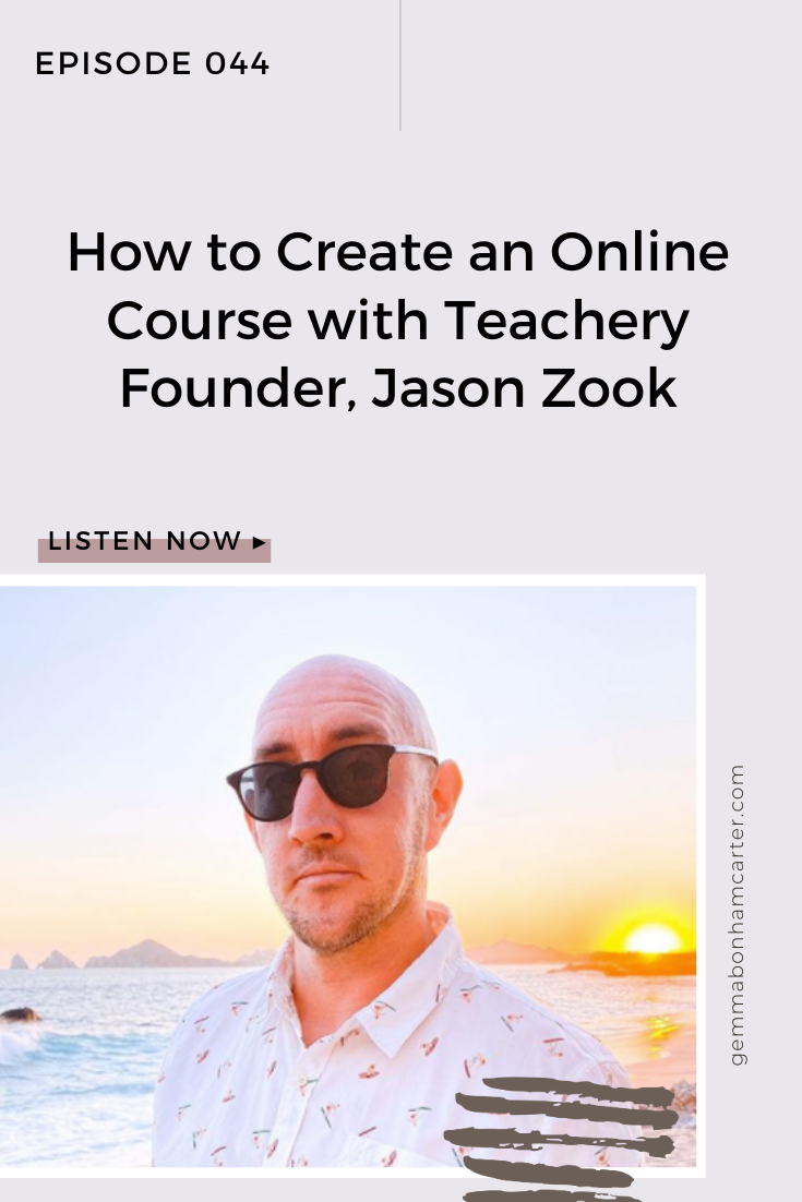Ep44: How to Create an Online Course with Teachery Founder, Jason Zook