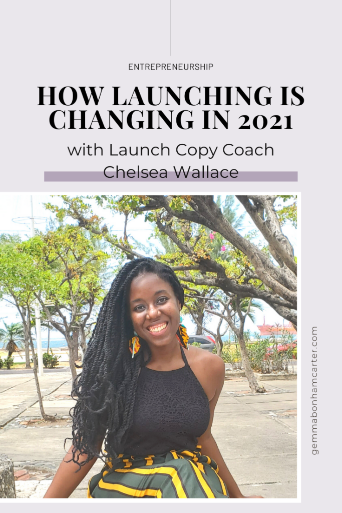Ep70: How launching is changing in 2021, with Launch Copy Coach Chelsea Wallace